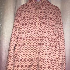 Chevron Fleece Pullover